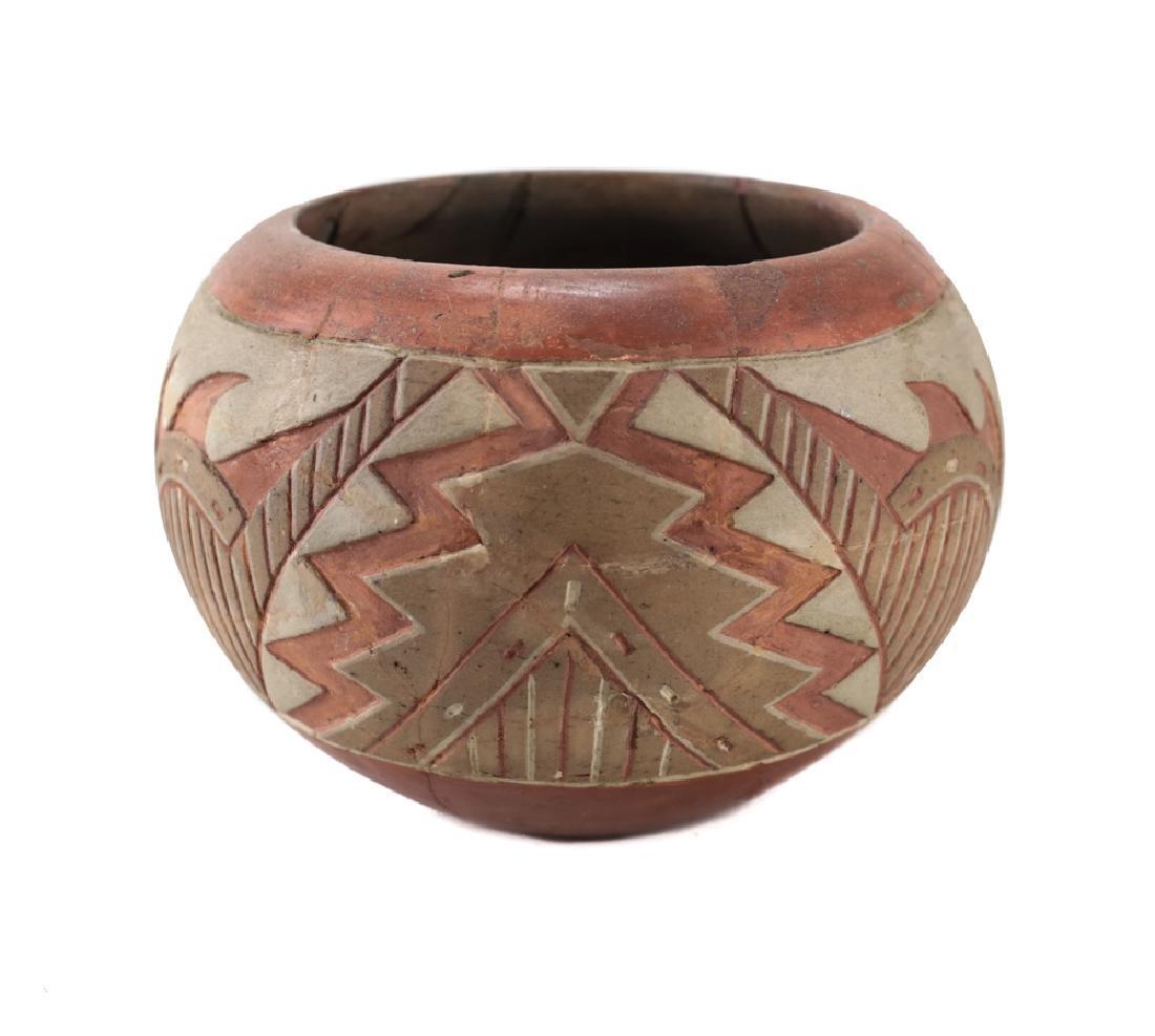 Native American Ancestral Puebloan  Polychrome bowl