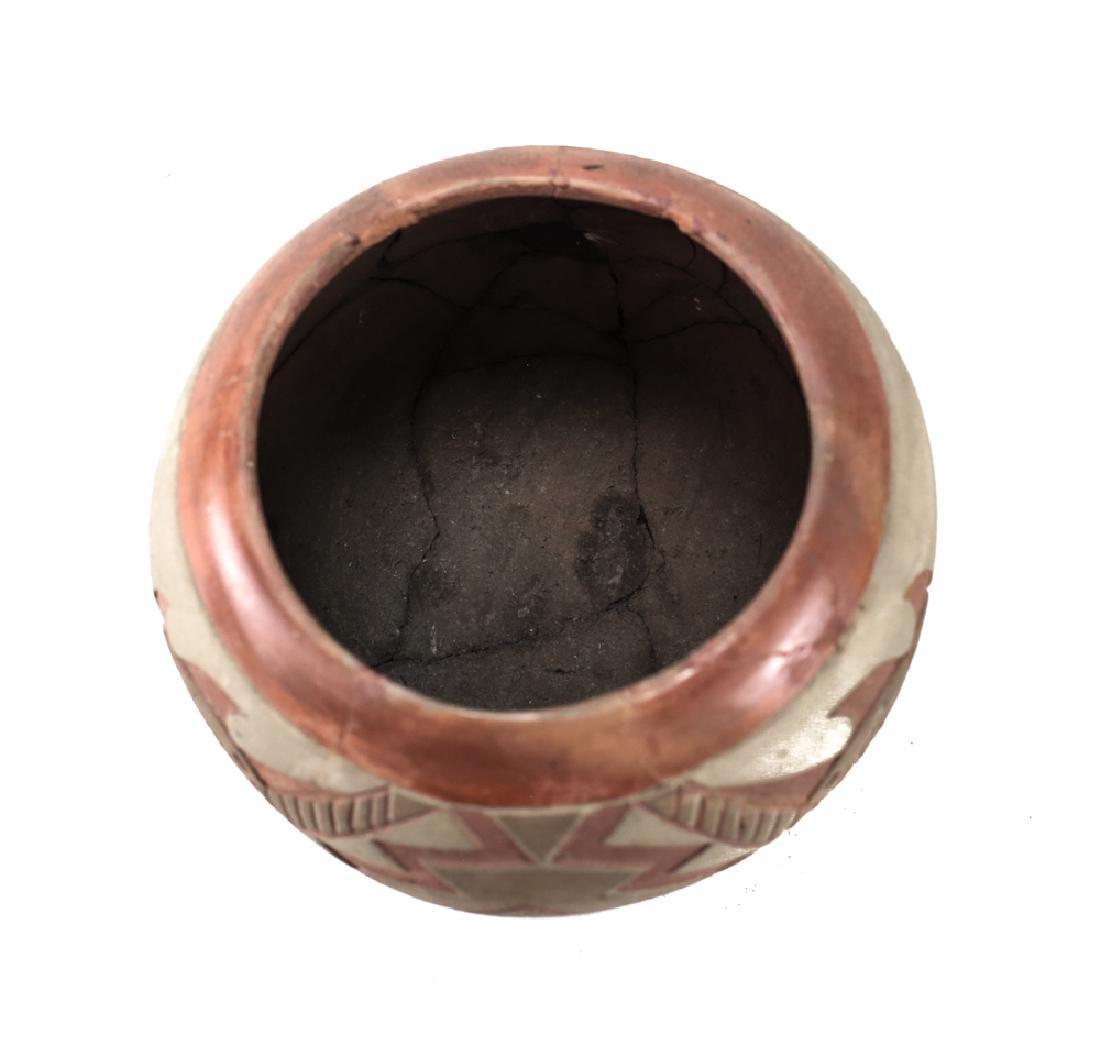 Native American Ancestral Puebloan  Polychrome bowl - 3