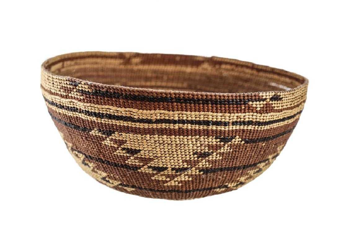 71f4e5774f1 HUPA KAROK Karuk Yurok Basket Hat Northwest