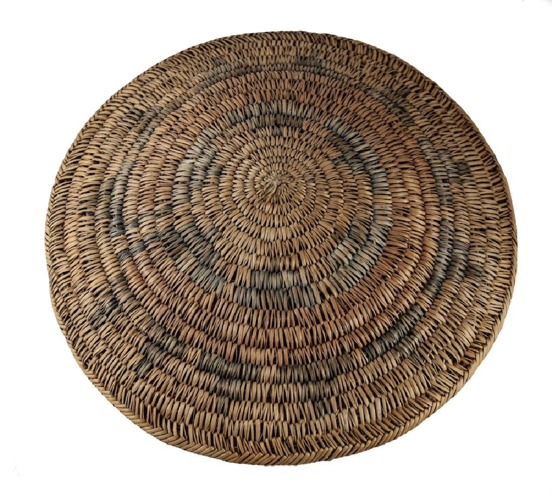 Native American NAVAJO Ts'aa Ceremonial Basket - 4
