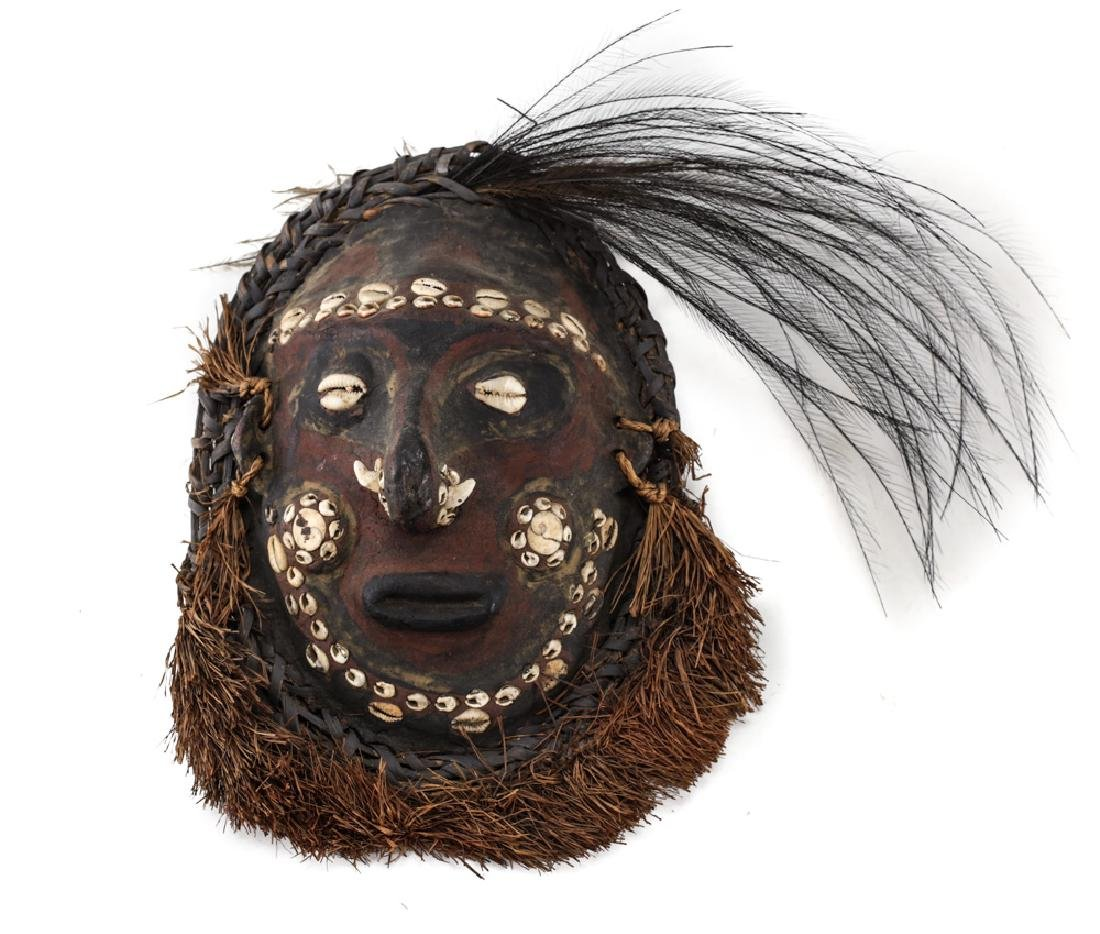 Turtle Shell MASK, Papua New Guinea.