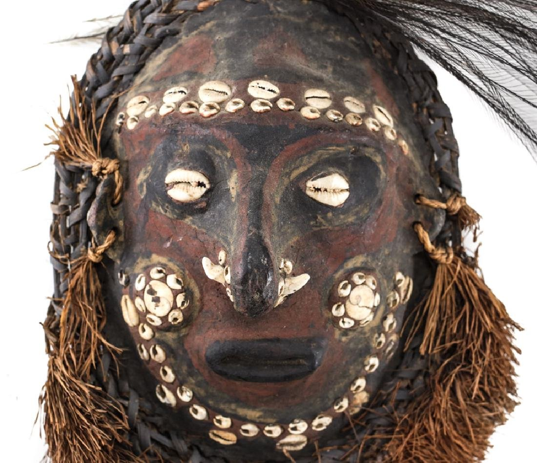 Turtle Shell MASK, Papua New Guinea. - 2