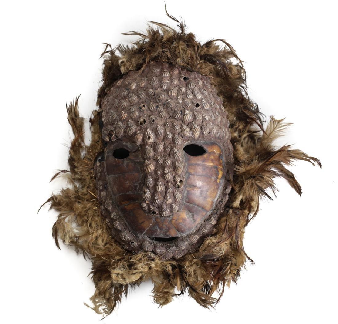 Mask Papua New Guinea, tortoise shell