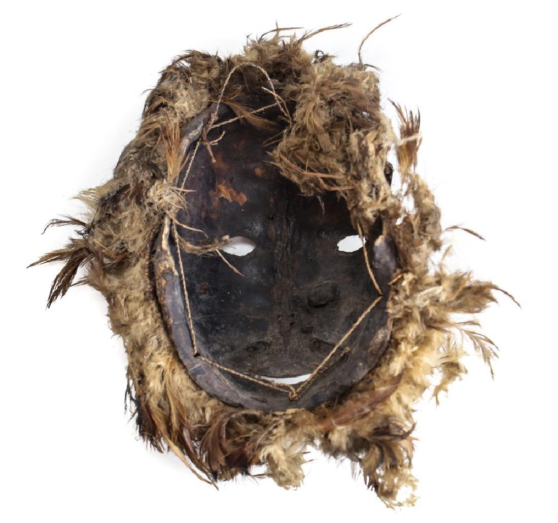 Mask Papua New Guinea, tortoise shell - 3