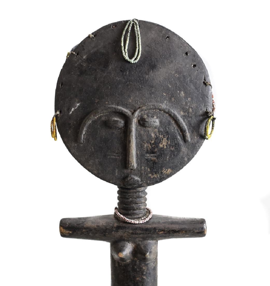 African Ashanti Akuaba Fertility Figure - 4