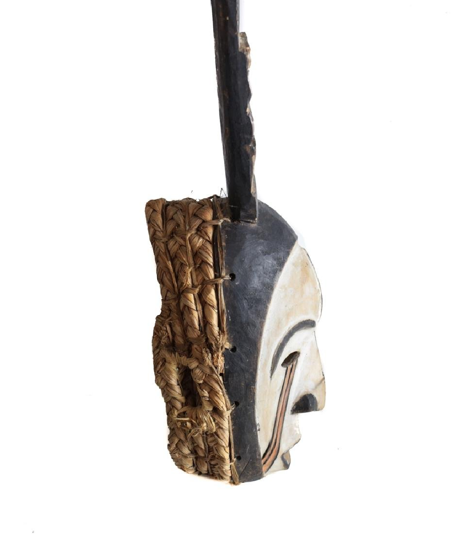 African Carved Wood Afikpo Mba Mask - 5