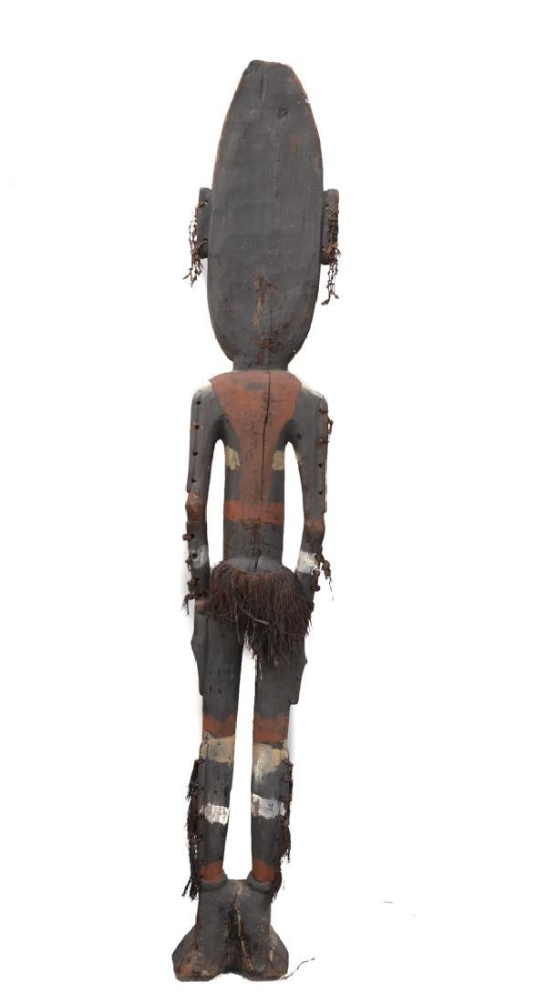 Very Large Papua New Guinea Carved Ancestral Figure - 6