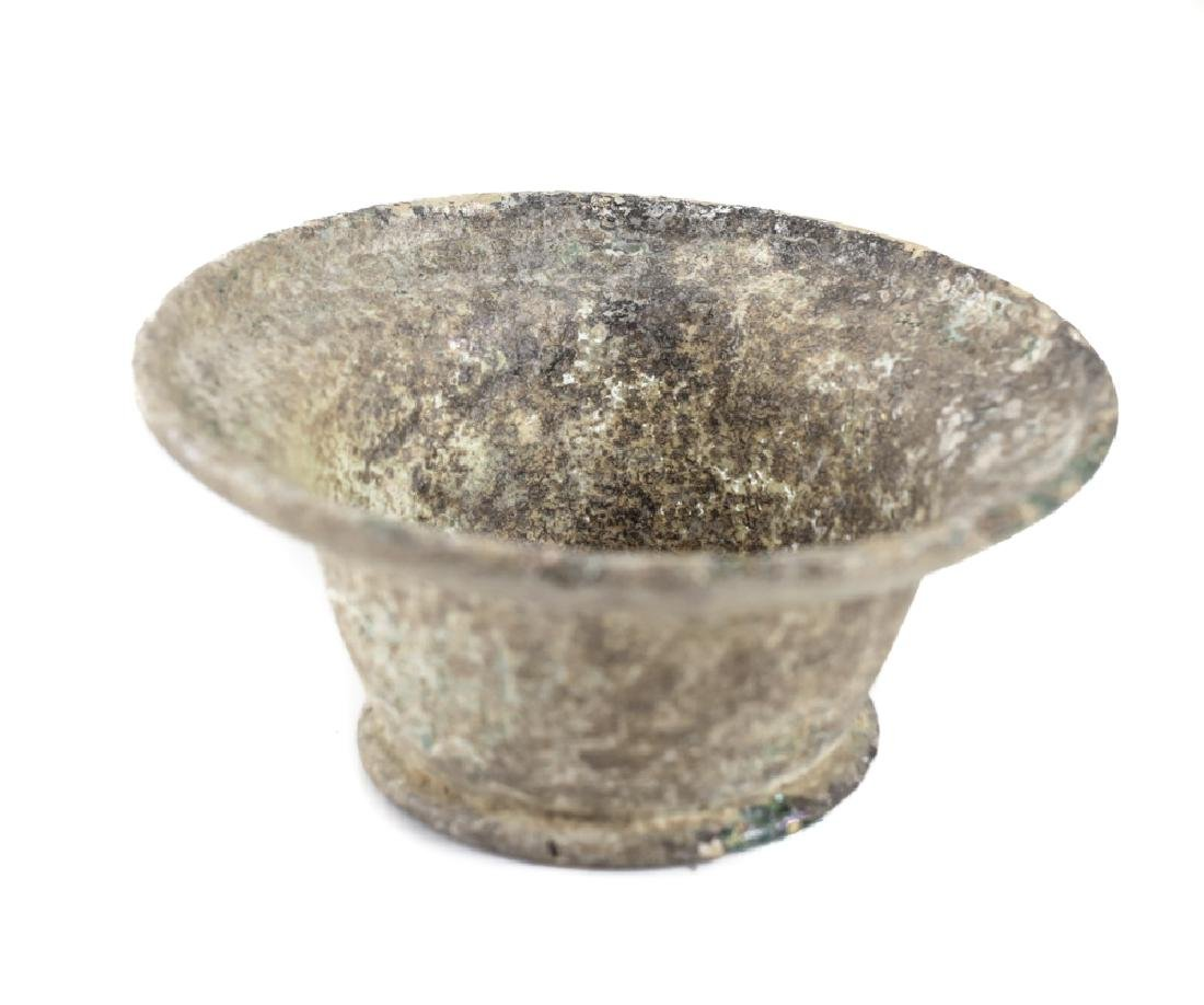 Archaic Roman Glass Bowl