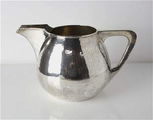 TC Shop Chicago, Arts and Crafts Hand hammered Sterling