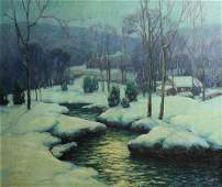George Jensen American 1878 - 1977 Oil painting c1930