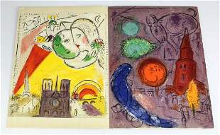Marc Chagall (Russian/French 1887-1985) Lithograph