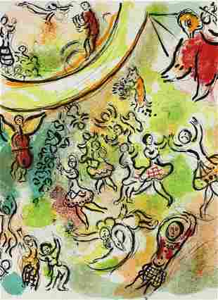 Marc Chagall (Russian/French 1887-1985) Lithograph The