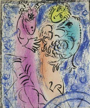 Marc Chagall (Russian/French 1887-1985) Original Color