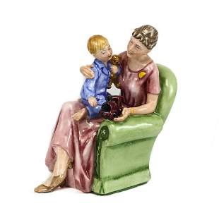 Royal Doulton Porcelain Figurine, 'When I was Young'
