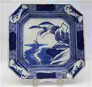 Arita Blue and White Porcelain plate
