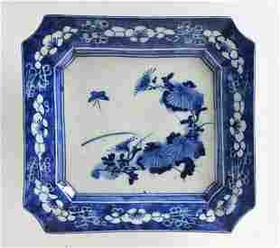 Arita Blue and White Porcelain plate