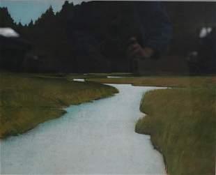 """""""Umpqua Salt Marsh"""" by Nespor 1992"""