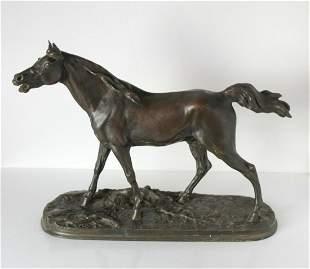 Pierre Jules Mene (French 1810-1879) Patinated Bronze