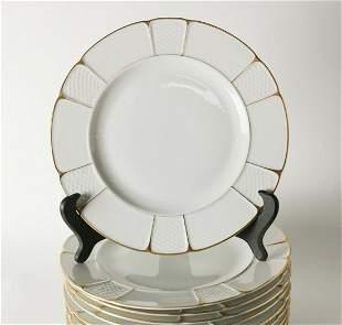 11pc Rosenthal Bavaria Barrock Dinner Plates, c1920.