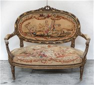 Continental Louis XV Style Setee