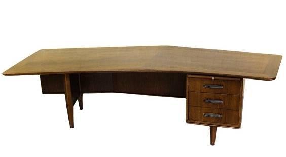 American Mid Century Monteverdi Young Executive Desk