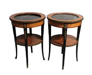 Pair French / Continental Regency Style bouilliote