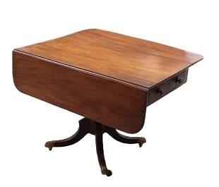 Regency style Drop Leaf Game Table