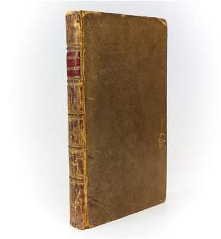 Samuel Johnson 'Prayers and meditations' 1785 publ.