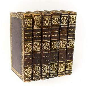Laurence Sterne The Works of Laurence Sterne In Six