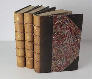 Samuel Warren, Ten Thousand A-Year 3 vol. set. Brown