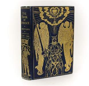 Andrew Lang 'The Book of Romance'. Longmans, Green, &