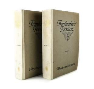 Friedrich H. Hofmann Frankenthaler Prozellan Vol I & II