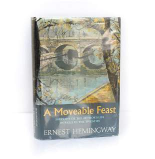 Ernest Hemingway 'A Moveable Feast' Scribner's & Sons