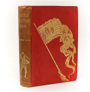 Andrew Lang 'The Red True Story Book' Longmans, Green,