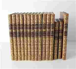 15 vol. George Crukshank, The Comic Almanack 1836-1850,