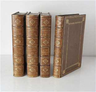 4 Vol. Handbook of Painting The Italian School; The