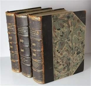 3vol Svenskt Silversmide 1520-1700, 1700-1780;