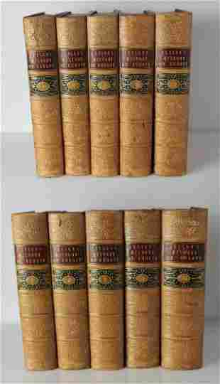 Archibald Alison, History of Europe from the French