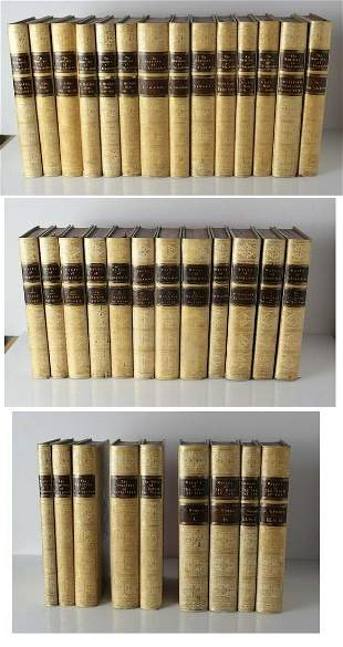 35 Volume Set of Early Christian Fathers, Vellum covers