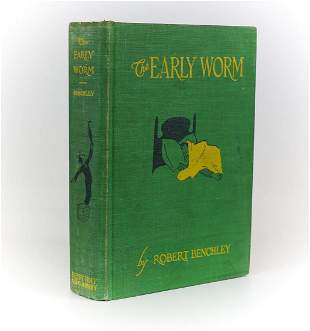 Robert Benchley 'The Early Worm'. Henry Holt & Co. New