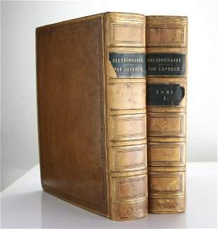 Jean Charles Laveaux, Nouveau Dictionnaire de La Langue