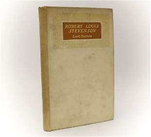 Lord Guthrie 'Robert Louis Stevenson'. W. Green & Son,