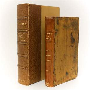Henry Fielding 'The Journal of a Voyage to Lisbon'. A