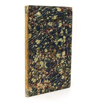 Lord Byron 'Hebrew Melodies' John Murray, London,