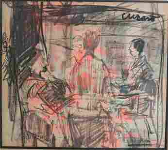 Pascal Cucaro (American 1915 - 2004) Works on paper,