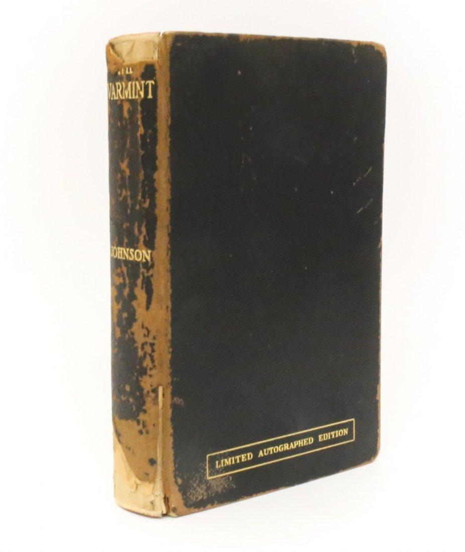 Johnson, Owen The Varmint Signed 1st Edition, 1930