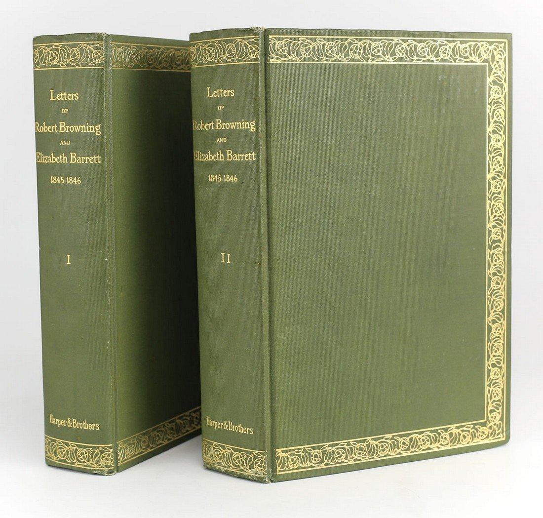 Letters Robert Browning & Elizabeth Barrett Barrett
