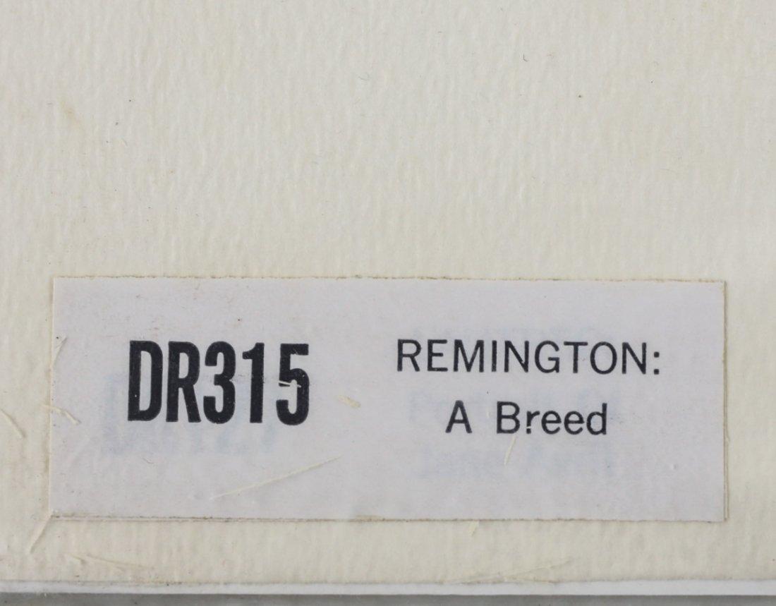 Remington, Frederic Set of Three Chomolithographs - 5