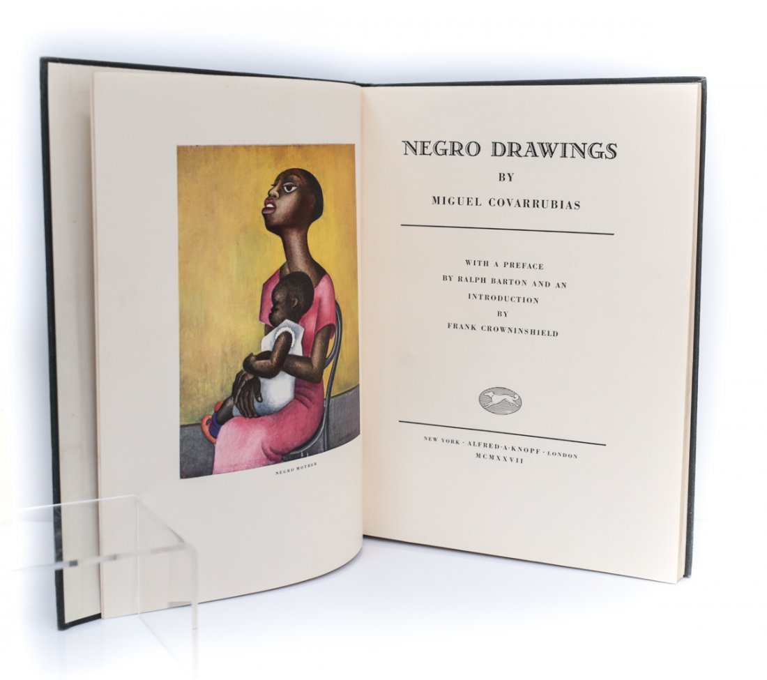 Covarrubias, Miguel Negro Drawings 1st Ed 1927 - 3