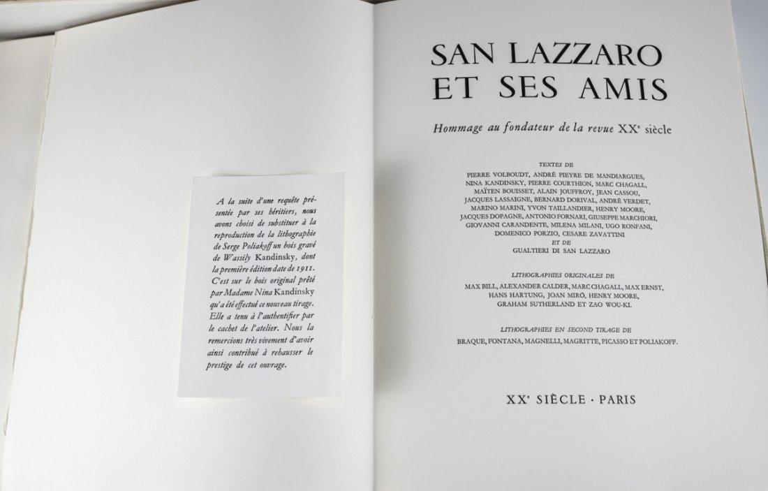 San Lazzaro Et Ses Amis' Portfolio XX Siecle 1975 - 3